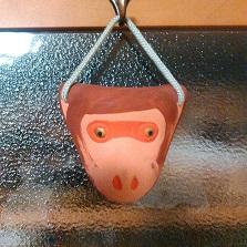 実家にあった猿面