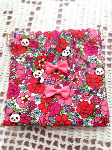桜 美月プロデュースパンダ柄小物入れピンク