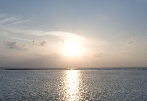 151107 海と太陽