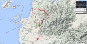 ECW Sunday hillclimb ride Mt Takanawa-Hirai bypass
