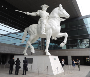 幻のスフォルツァ騎馬像blog02