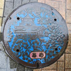 犬山あめマンホールの蓋blog0