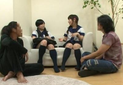 【鬼畜レイプ】家出をして行き場のない少女を自宅に連れ込み犯しまくる大人達