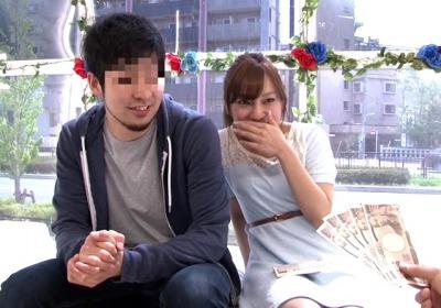 【マジックミラー号】男友達のチンポを挿れたら5万円!?男女の友情は成立すると豪語する2人に交渉した結果wwww【素人】