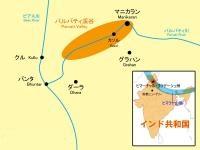 ヒマラヤ マニカラン地図