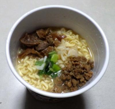 3/14発売 本気盛 極しお豚骨(できあがり)