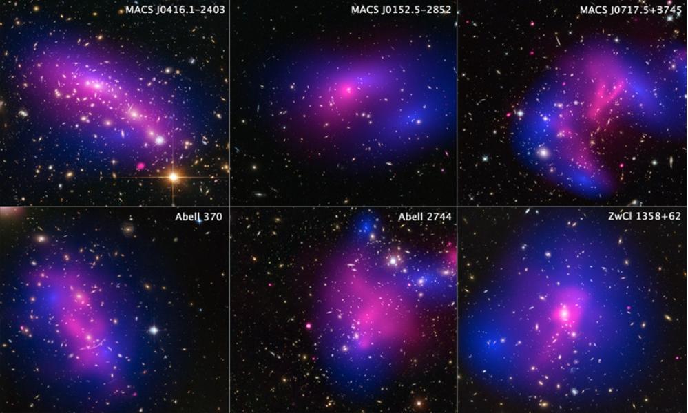 銀河団同士の衝突現場