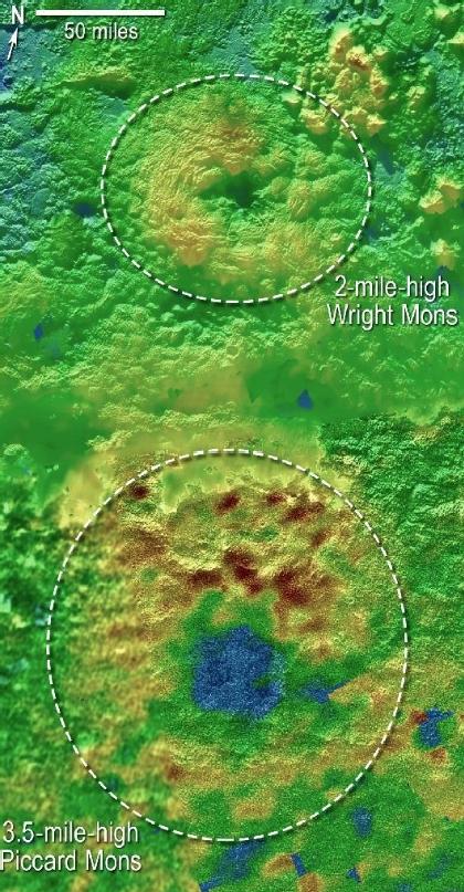 冥王星の火山