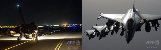 仏軍IS空爆