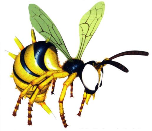 虫系のキャラは外見がどうであれ、やっぱり虫としての脅威は持ってる事が多い