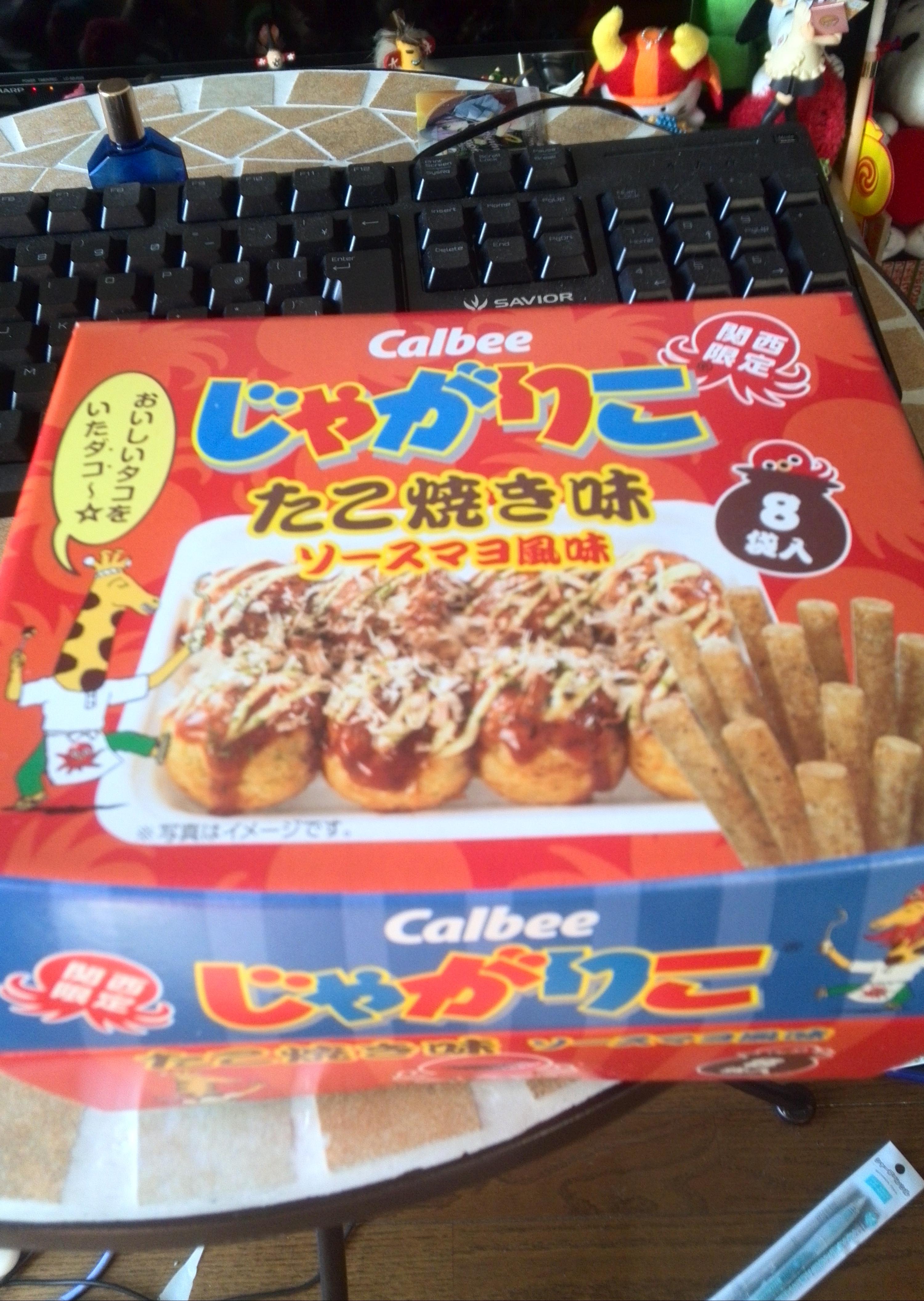 大阪のじゃがりこ たこ焼き味