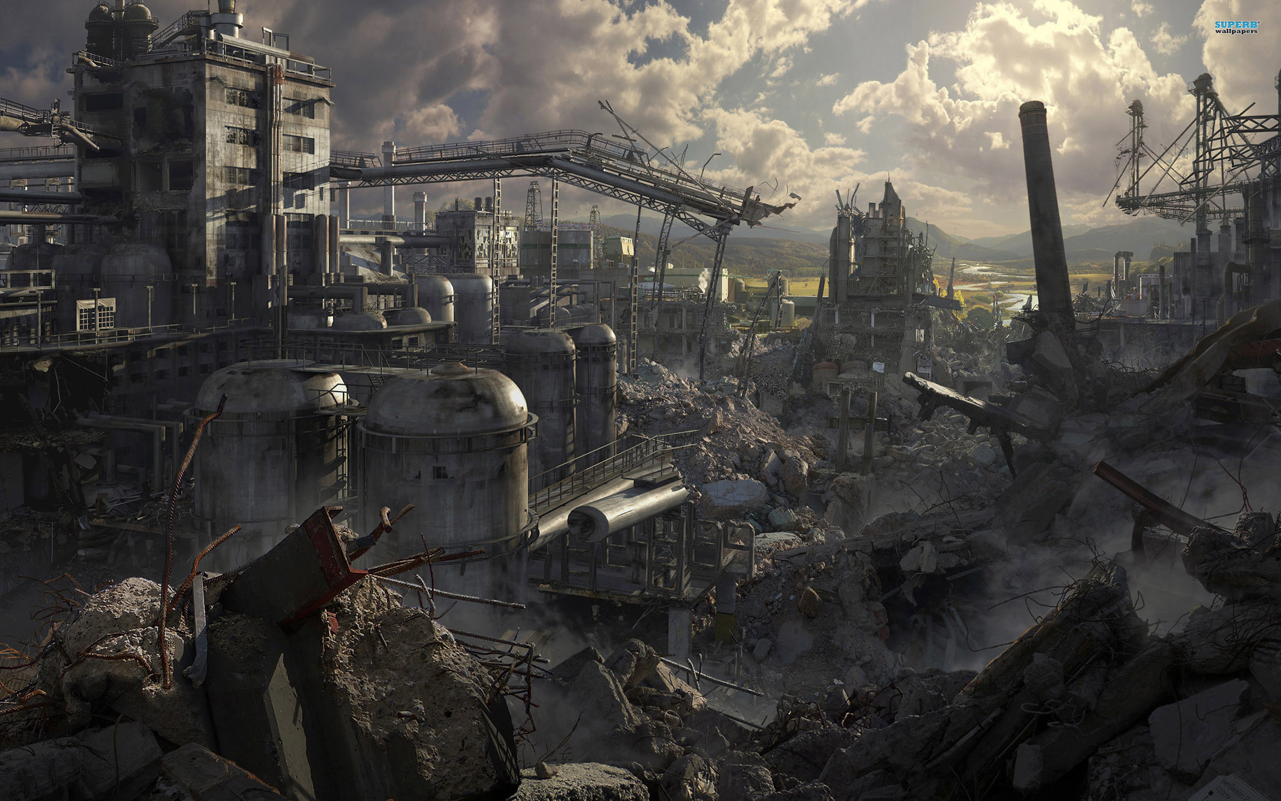 廃墟の世界には喜びは存在しないよ