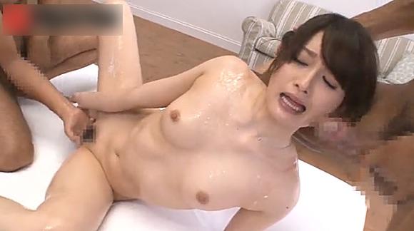 【上原瑞穂】スレンダー美女が連続でデカチンにハメられヨガリっぱなし!