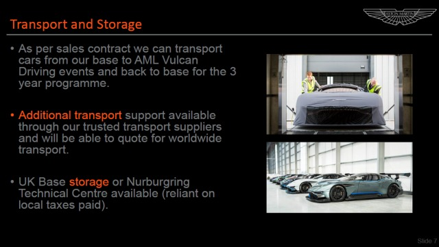 Aston Martin Vulcan – Service, Support Events Overview (5)