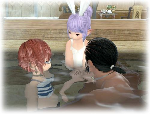入浴タイム