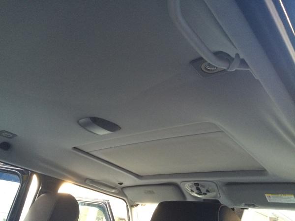 天井張替え M・ベンツG500