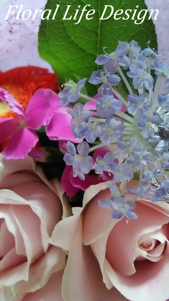 花束 花アップロゴ