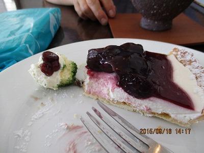 チーズケーキ150916