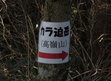 カラ迫岳サバノオ 111