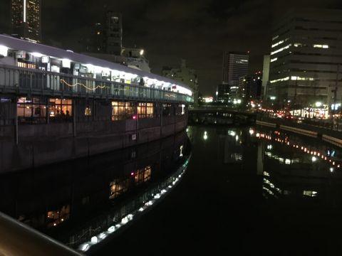 夜の大岡川