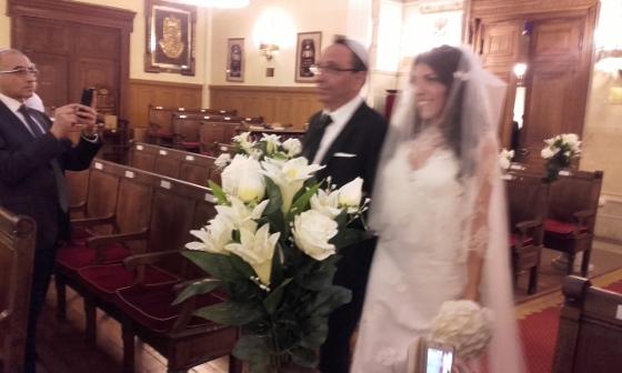 シナゴーグ結婚式