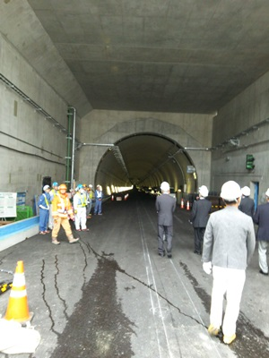 東京港トンネル1