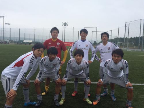 2015年度(第38回)中国大学サッカーリーグ 最終節(2015:11:8 日)2/2