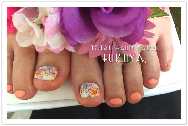 春Campaign♪ふわふわお花満開ペディ**