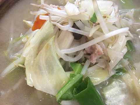 タンメン野菜