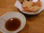 生姜の天ぷら@熟成うどんなかや