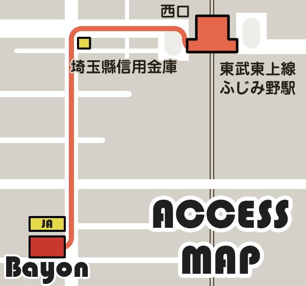 bayonアクセス