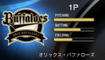 オリックス・バファローズ プロ野球スピリッツ2015 ver1.10