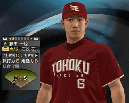藤田 一也 プロ野球スピリッツ2015 ver1.10