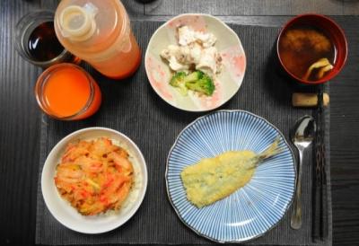 かき揚げ小どんぶり 天ぷらセット