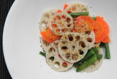 三色野菜のソテー