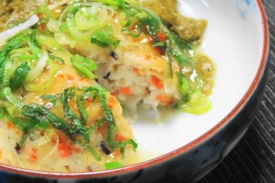 牡蠣の擦り流し<豆腐しんじょう