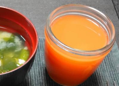 人参・りんご・レモンジュース