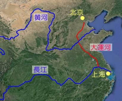 中国の運河