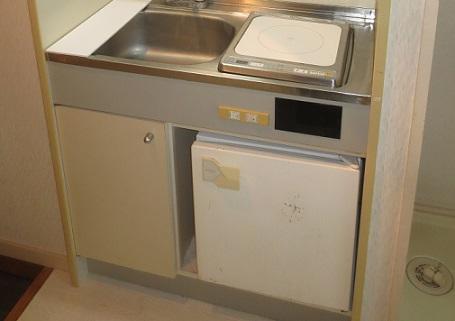 ミニ冷蔵庫古い