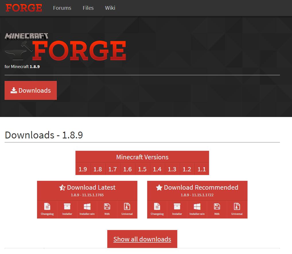 minecraft forge-2