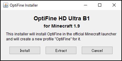 minecraft 1-9 OptiFine-2