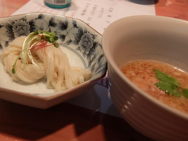 豚鶏白湯つけ麺
