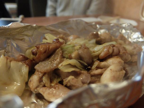 鶏のニンニクしょうゆ焼き