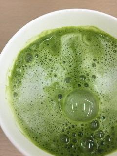 ファミマカフェ 抹茶ラテ2