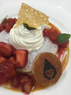 カフェ デ オラ 米粉パンケーキ キャラメルアップル2