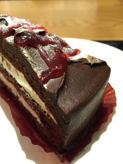スターバックスコーヒージャパン ラズベリーチョコレートケーキ