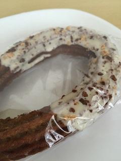 デイリーヤマザキ 日々カフェ キャラメルチュロッキー(ホワイトチョコ)