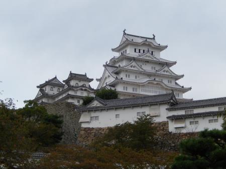 大手門からの姫路城