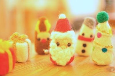 グルッグのクリスマス2015WSサンプル羊毛