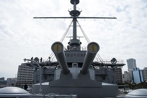 三笠の大砲